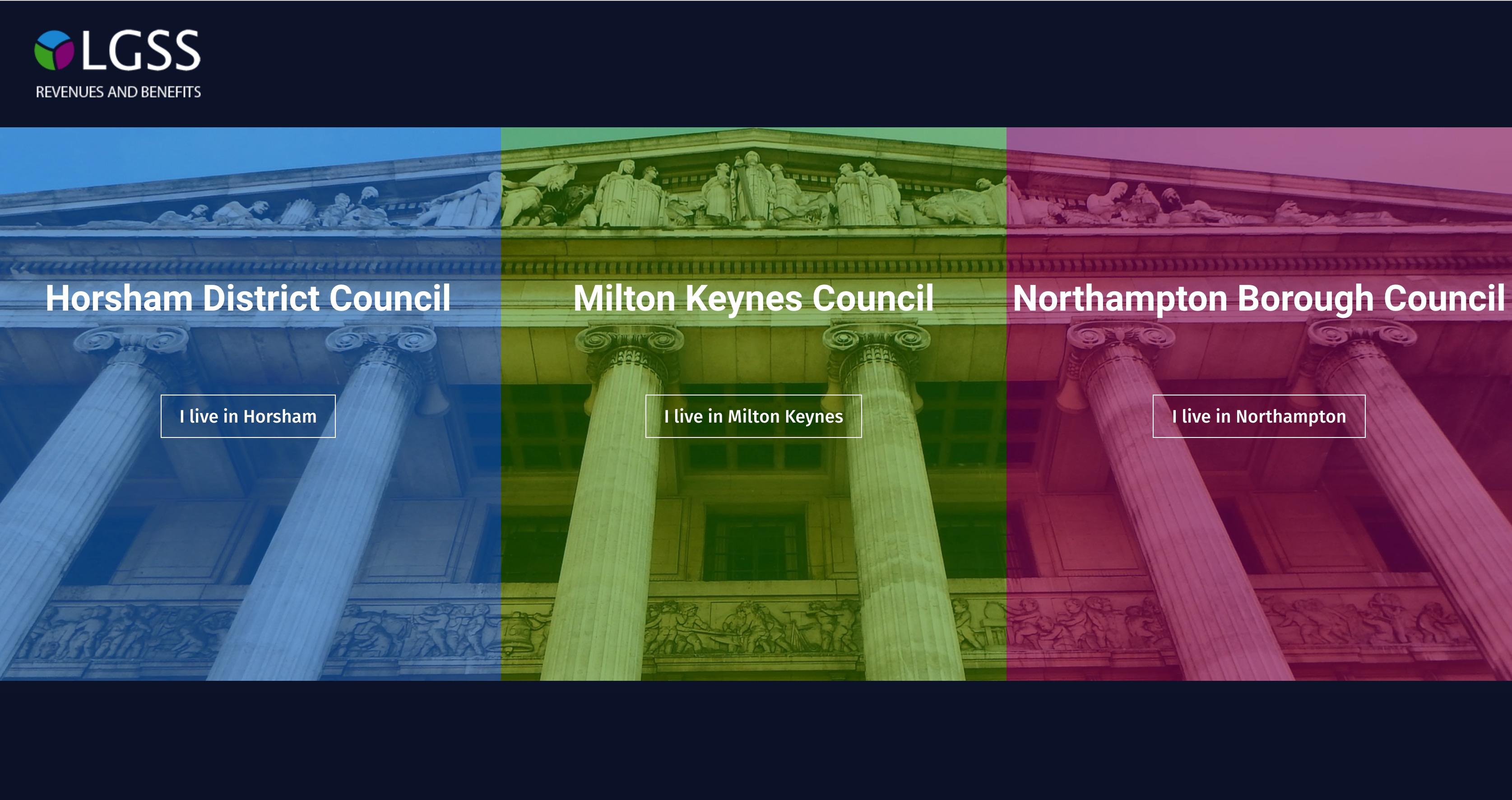 Council tax website