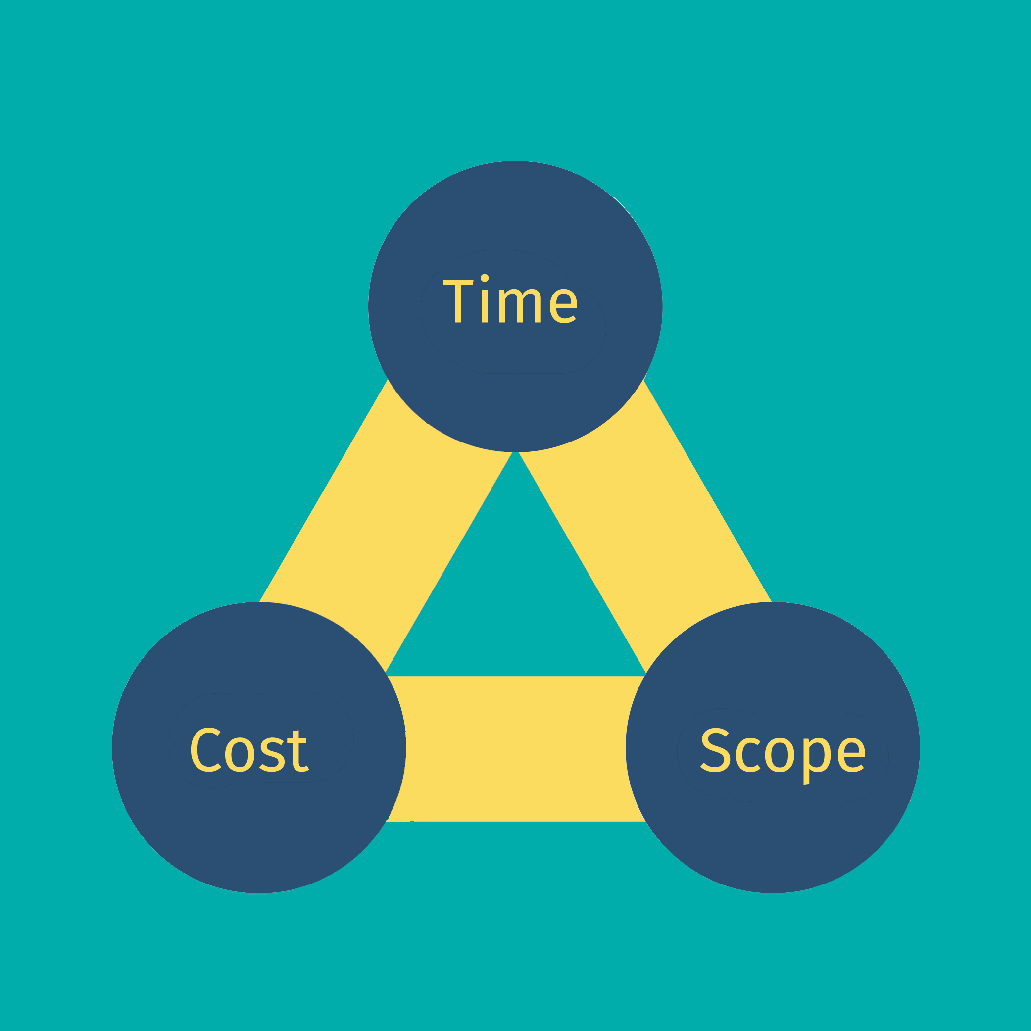Cost, time and scope